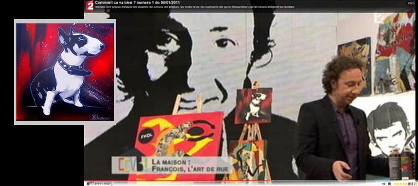 Emission France 2 / Art de rue