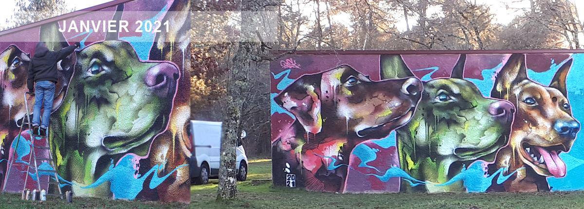 Street art bourges